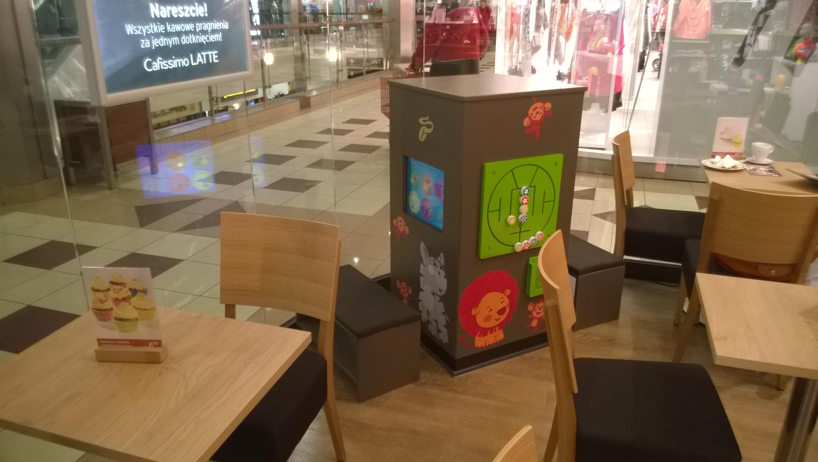 Interactive kids corner